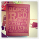 Trader Joe's block red