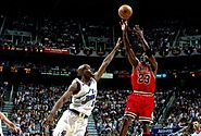 "Game 6 of the 1998 NBA Finals - ""Jordan Push Off"" and Final Shot"
