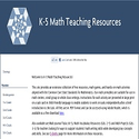 Math Teaching Resources for K-5 Classrooms