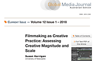 Filmmaking as Creative Practice: Assessing Creative Magnitude and Scale