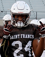 Nick Robinson (Saint Francis) 6-0, 220
