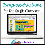 Compare Fractions: Interactive Math for the Google Classroom | TpT