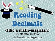 Reading Decimals Powerpoint Common Core Resource by Mercedes Hutchens