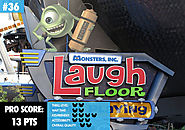 36. MONSTERS INC. LAUGH FLOOR