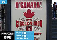 9. O Canada!
