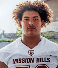 Noah Arce (Mission Hills) 6-4, 250