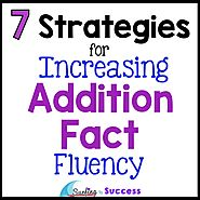Addition Facts Strategies for Increasing Fluency - Surfing to Success