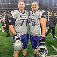 Dustyn Coughlin 6-5 295 OL Hermiston (OR)