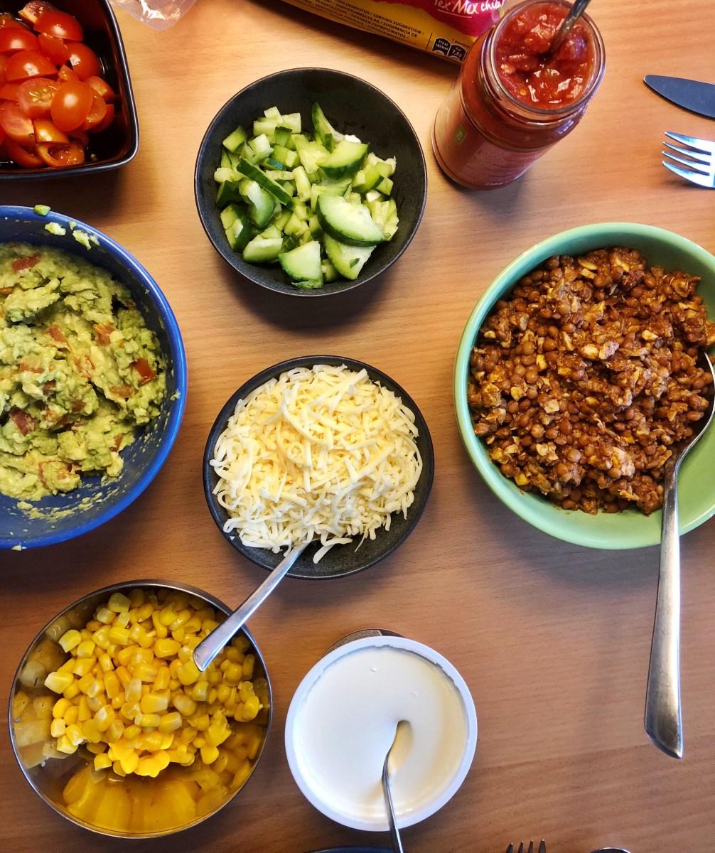 Veckans vegetariska: Svamp- och linstacos
