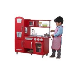 Kidkraft Red Vintage Kitchen 53173 Home Depot Backsplash Glass Tile - Barnkök Litenleker.se
