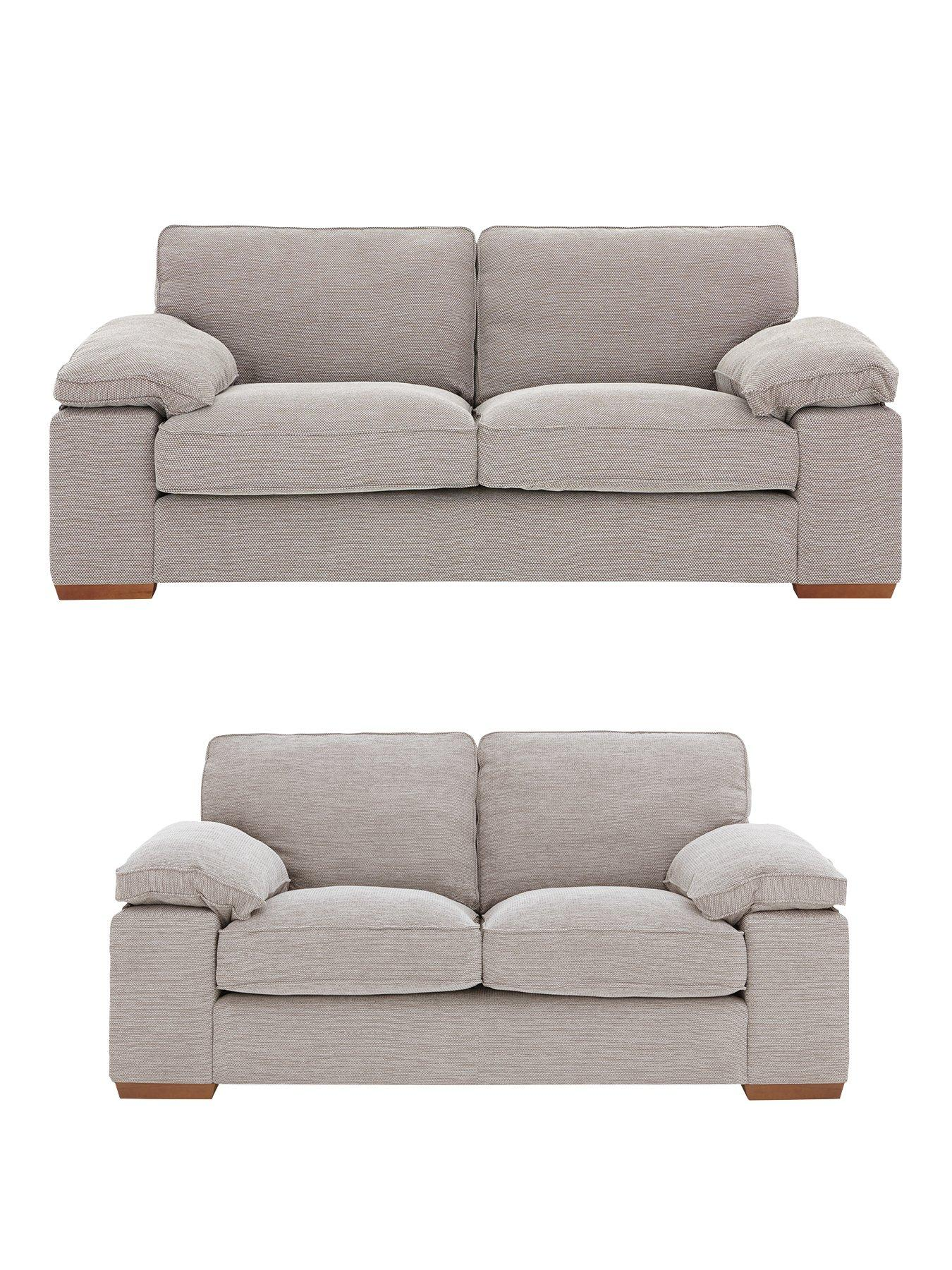 3 seater fabric sofa you love santa monica aylesbury 2 set buy and save littlewoods com