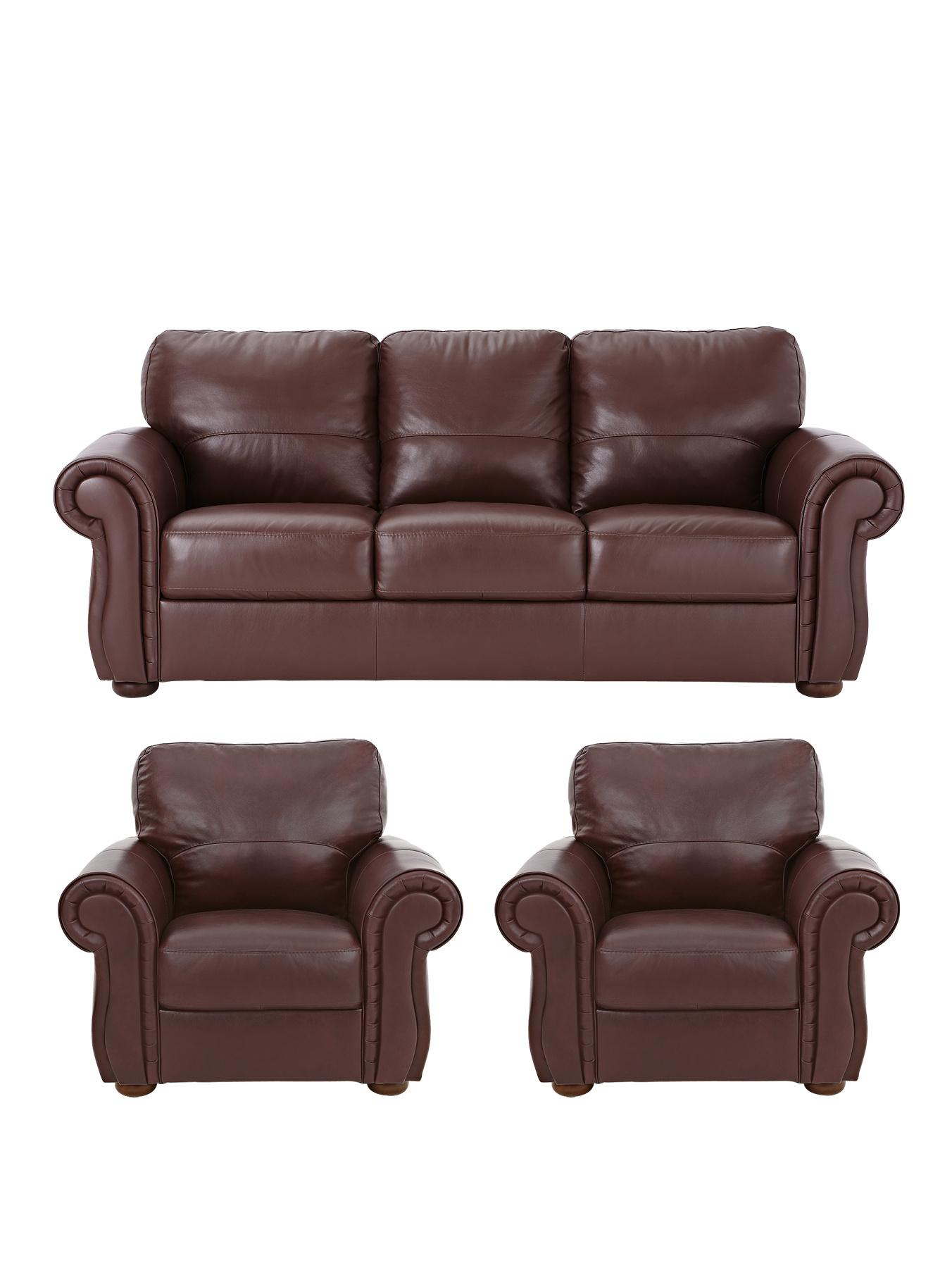 2 seater sofa and armchairs small scale sectional with chaise littlewoods cassina italian leather 3 plus