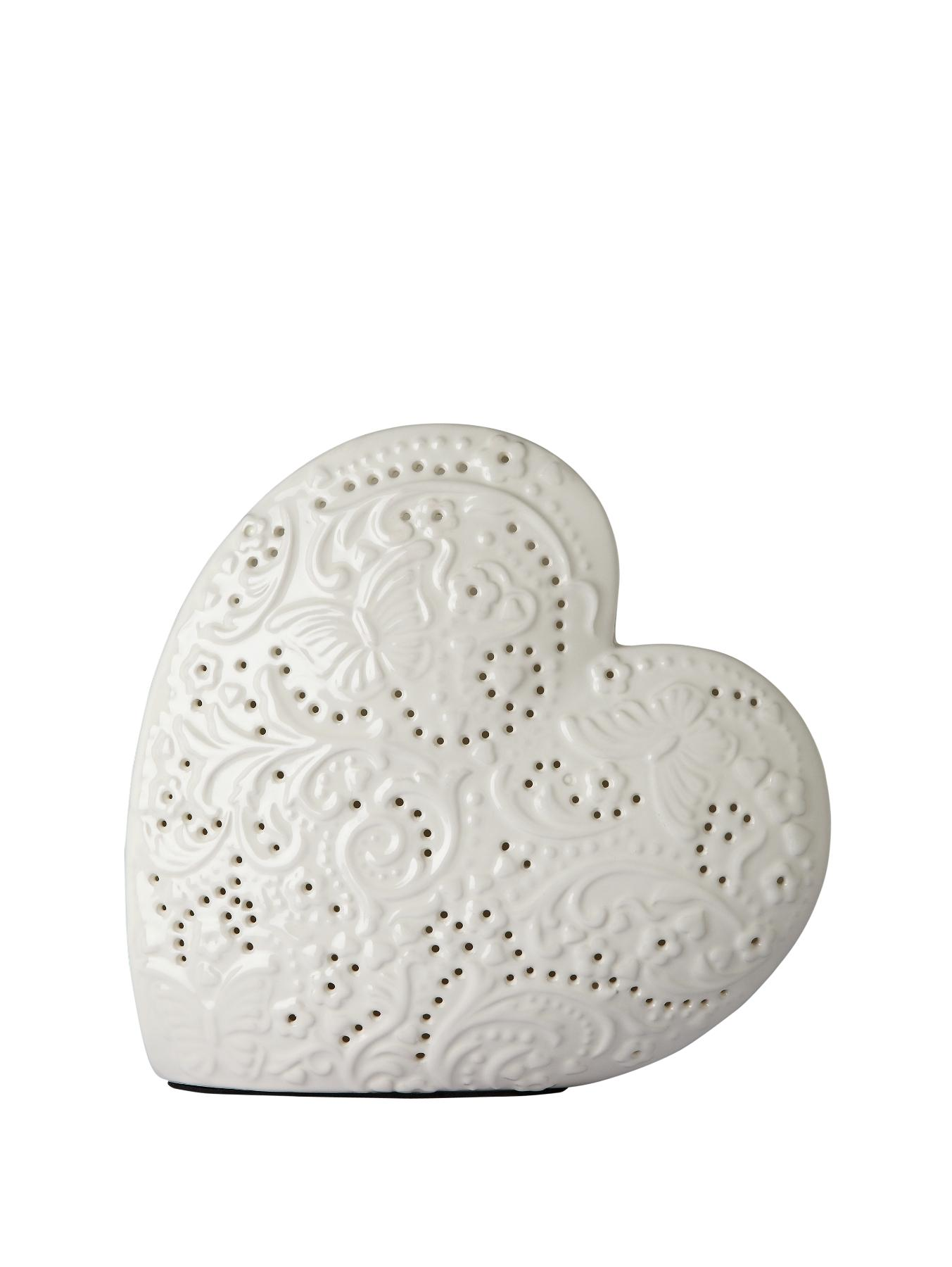 Heart Shaped Table Lamp