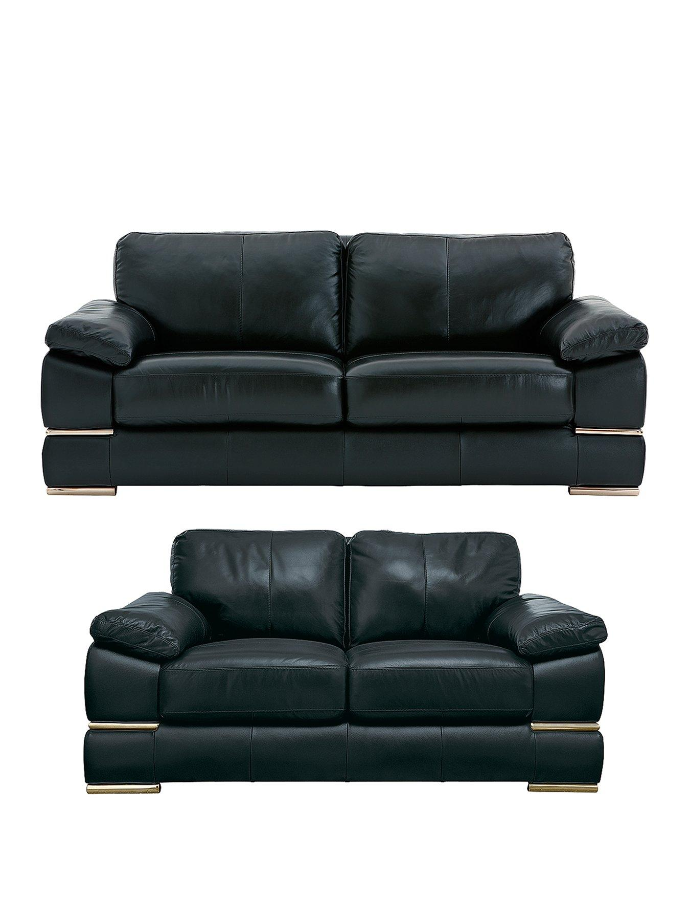 leather sofas cheap prices sectional primo italian 3 seater 2 sofa set buy and save littlewoods com
