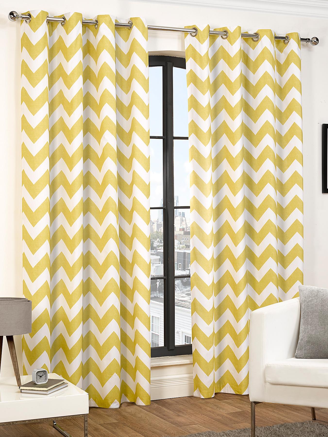 Yellow Curtains & Blinds Home & Garden Littlewoods Com