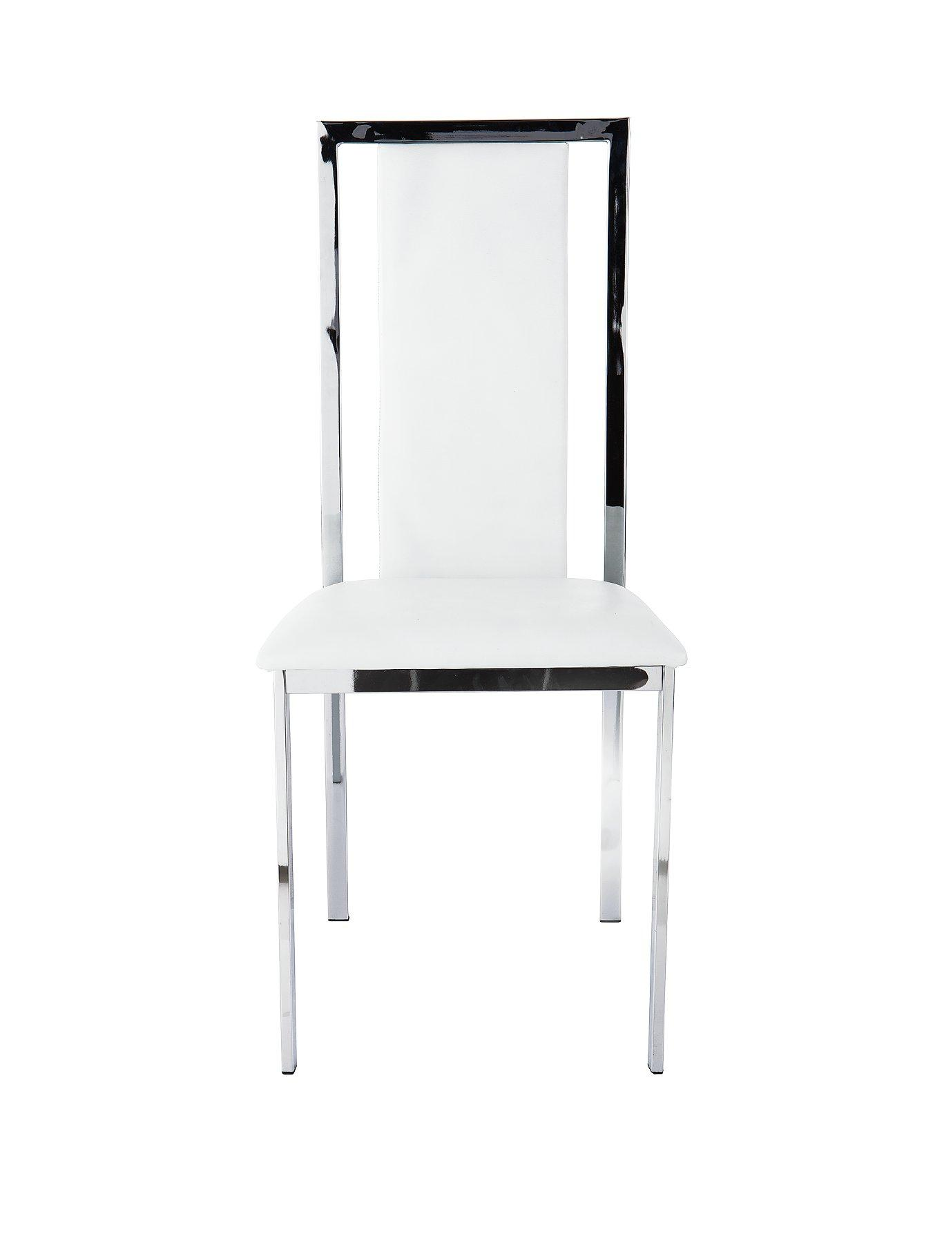 chrome dining chairs uk revolving chair online shopping in pakistan cheap leather and best deals on