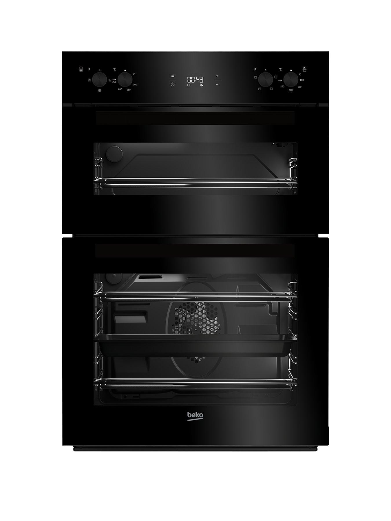 beko electric cooker wiring diagram 07 gsxr 600 ignition cookers electricals www littlewoods com bdf22300b 60cm built in double oven with connection black