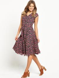 Joe Browns Free Flowing Floral Dress - Pink | littlewoods.com