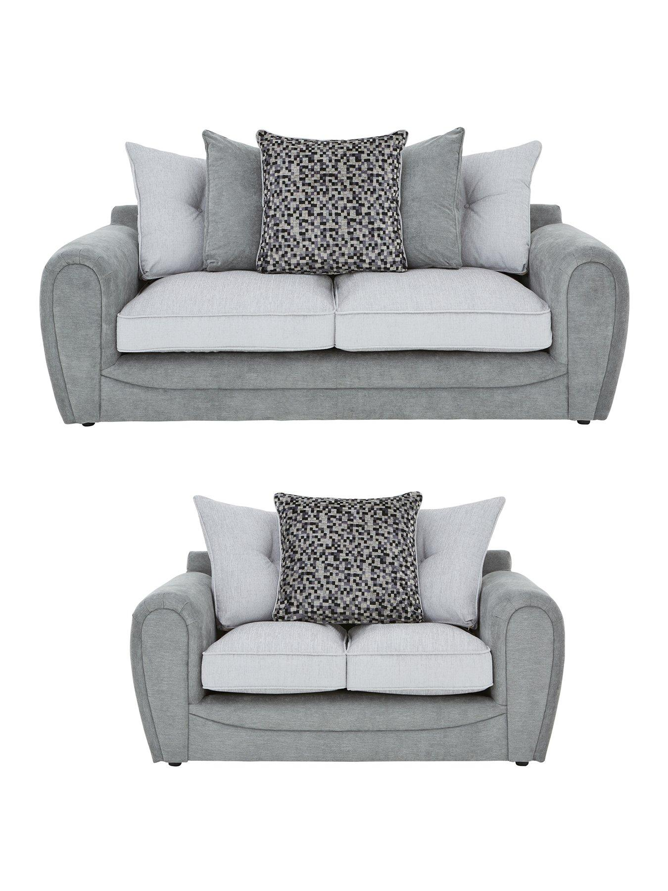 3 seater fabric sofa cheap corner bed glasgow mosaic 2 set buy and save littlewoods com