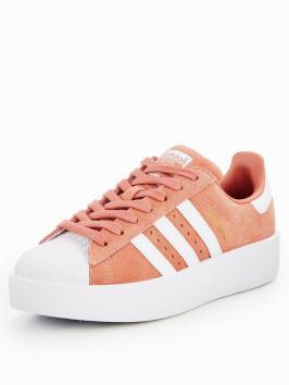 pink white. Adidas-originals-superstar-bold-pinkwhitenbsp Pink White