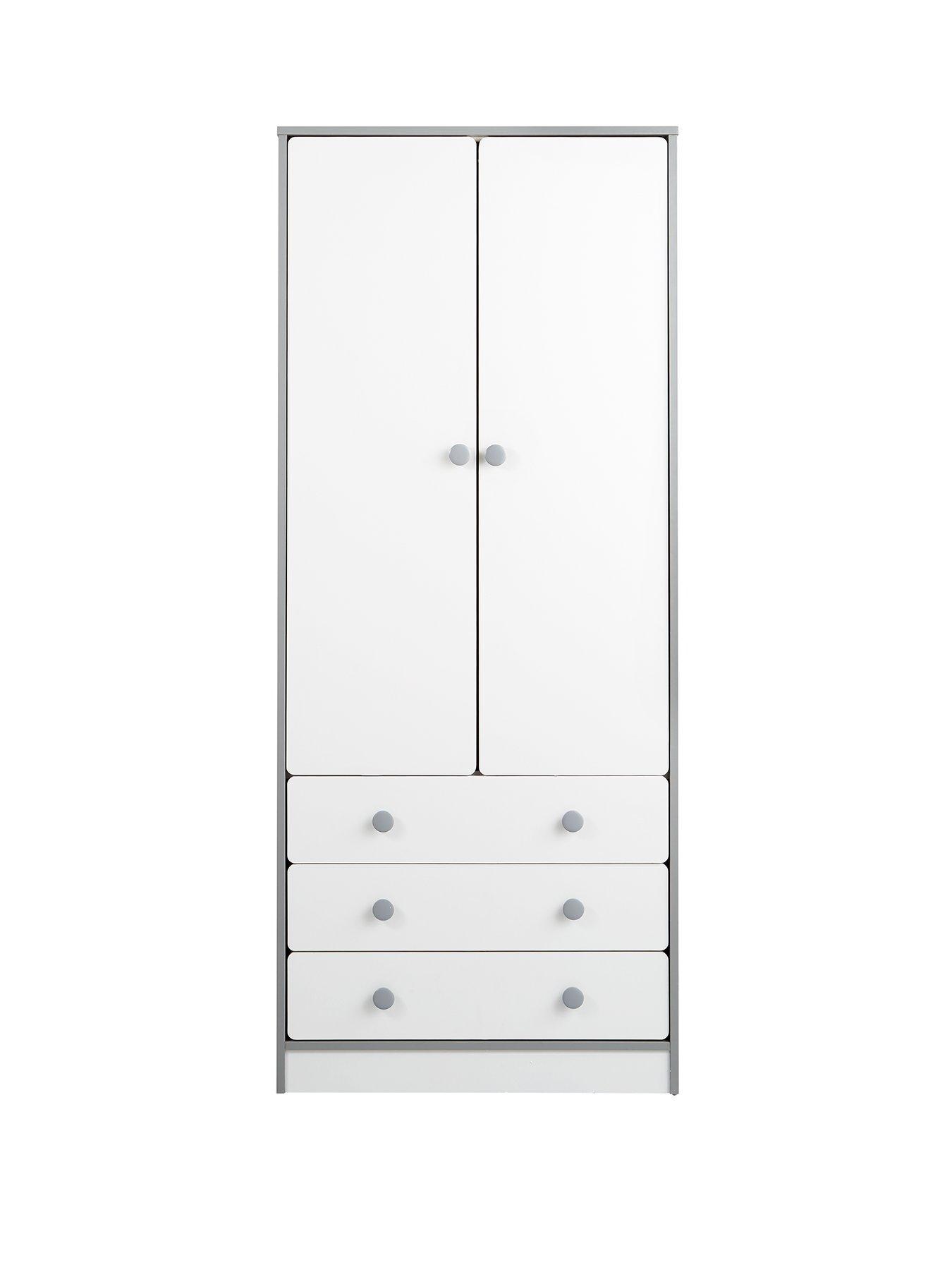 homeware peyton sofa rattan corner set uk 2 door 3 drawer kids wardrobe white grey littlewoods com