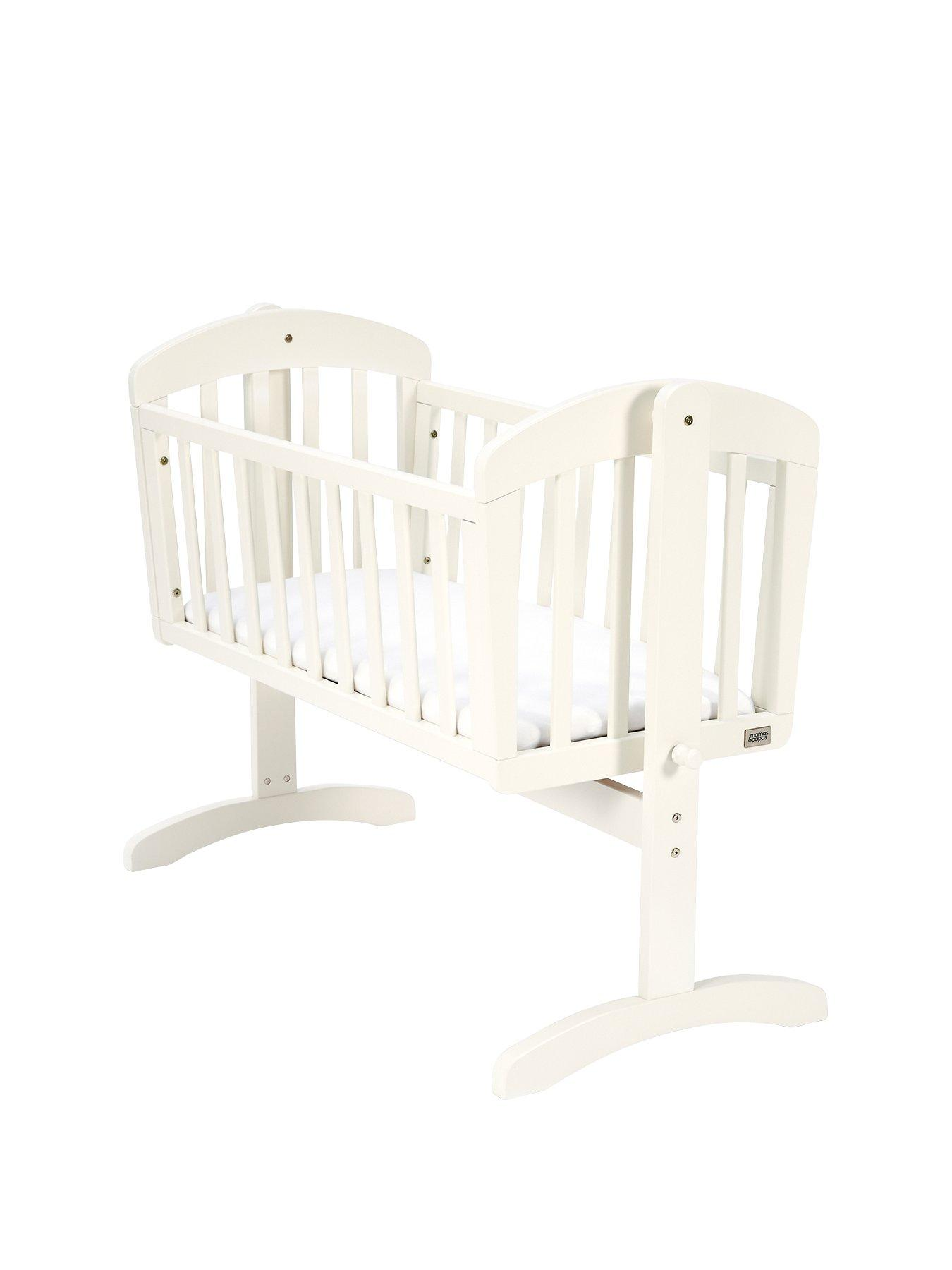 swing chair mamas and papas antique rocking chairs 1800s breeze swinging crib white