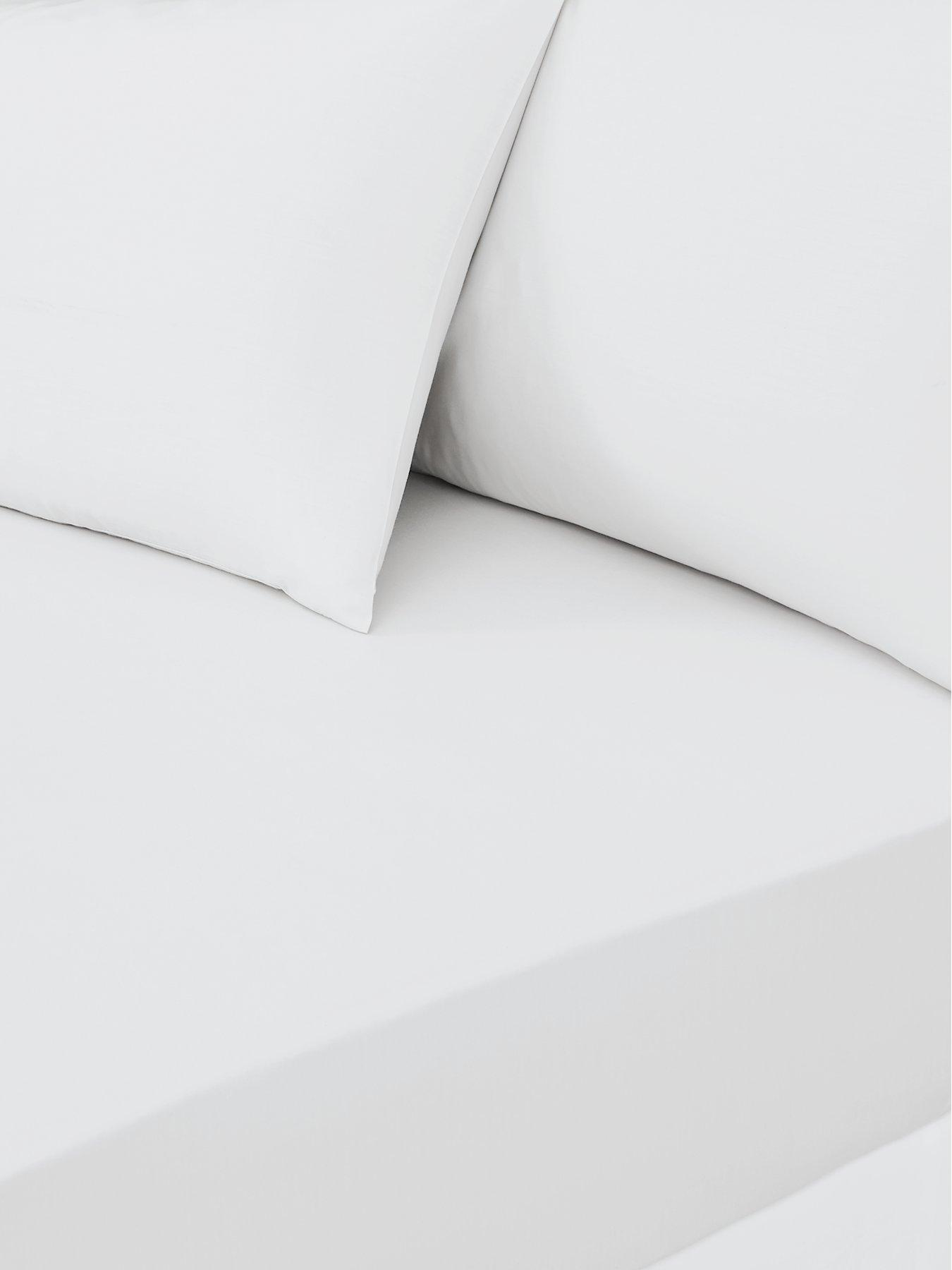 Fitted Sheets White Bedroom Bed Sheets Bedding Home Garden Www Littlewoods Com