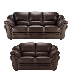 4 Seater Leather Sofa Prices Friheten Bed Package Dimensions Napoli 3 Plus 2 Set Buy And Save Littlewoods Com