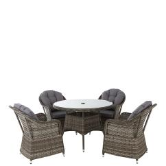 B And Q Garden Chair Covers Zinger Folding Furniture Shop Online Littlewoods Ireland Florida 5 Piece Grey Rattan Dining Set