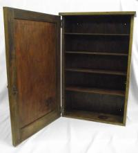 Antique Wood Medicine Cabinet