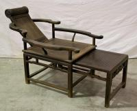 Chinese Qing Rosewood Opium Chair