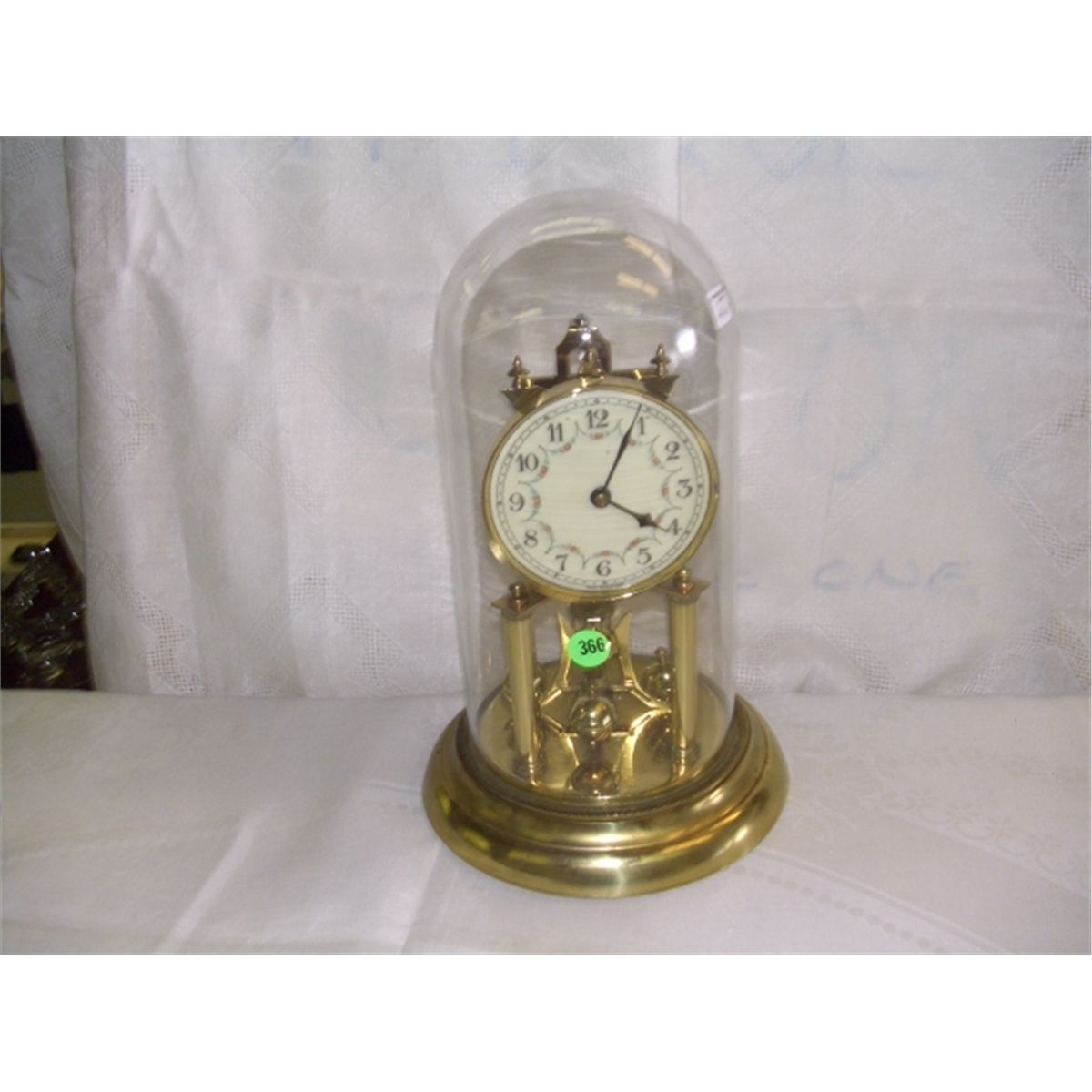 Glass Dome Mantle Clock