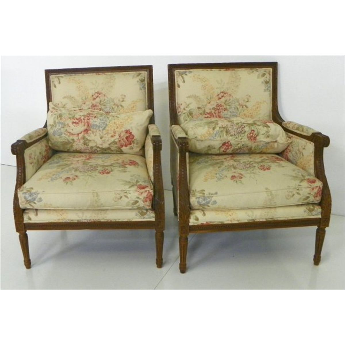 bergere chairs for sale baby swing chair argos ireland pair louis xvi style ralph lauren loading zoom