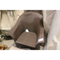 BROWN WICKER PATIO CHAIR - Able Auctions