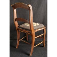 Antique Needlepoint Chair Electric Lift Chairs For The Elderly Furniture