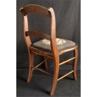 Antique Needlepoint Chair | Antique Furniture