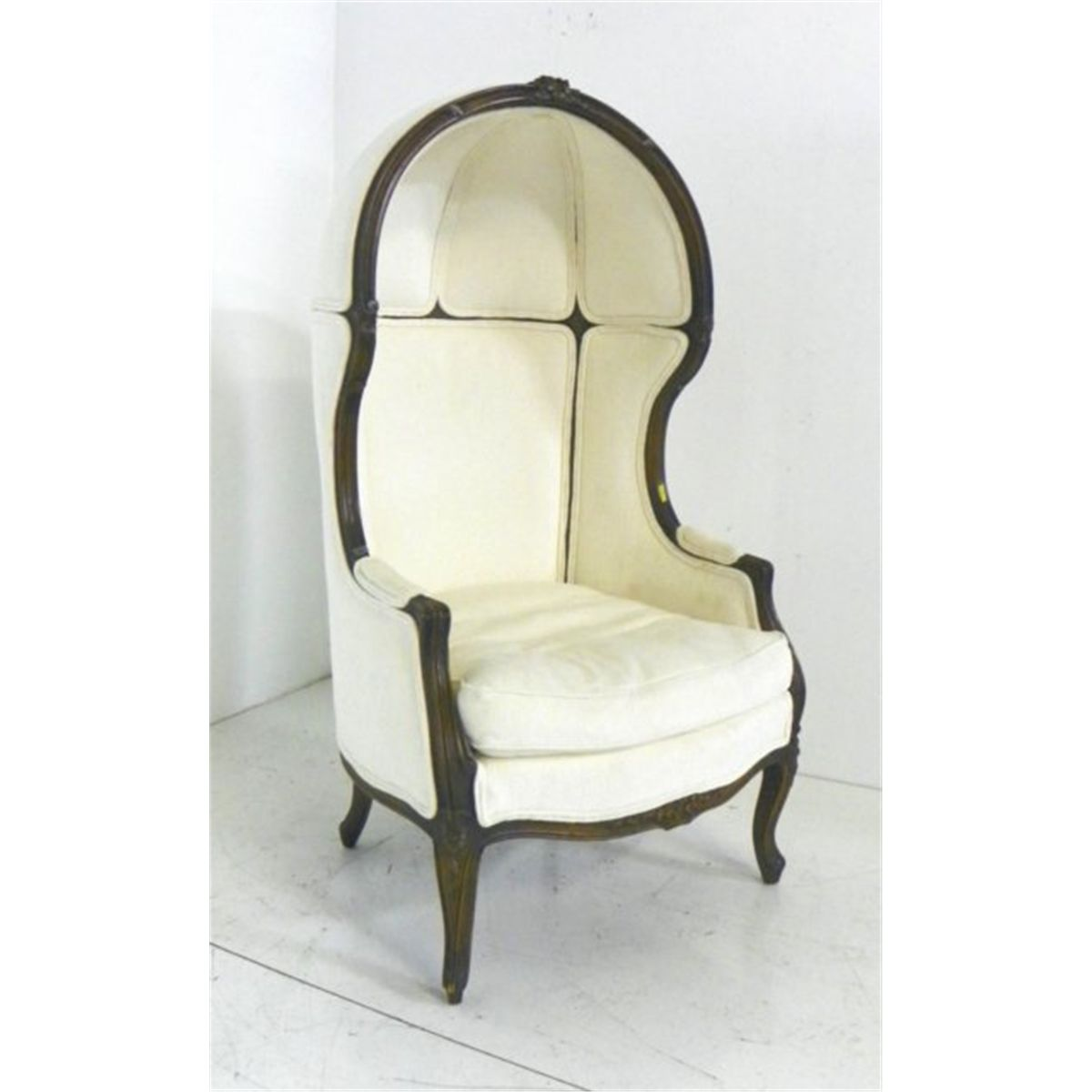 Hooded Chair 20th C French Style Hooded Porter 39s Chair