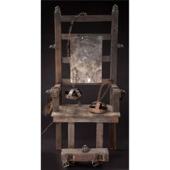 Vintage Electric Chair Sherpa Double Hang Around From Addams Family Values