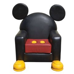 Minnie Mouse Recliner Chair High On Sale Mickey Leather From Disney World Toon Town
