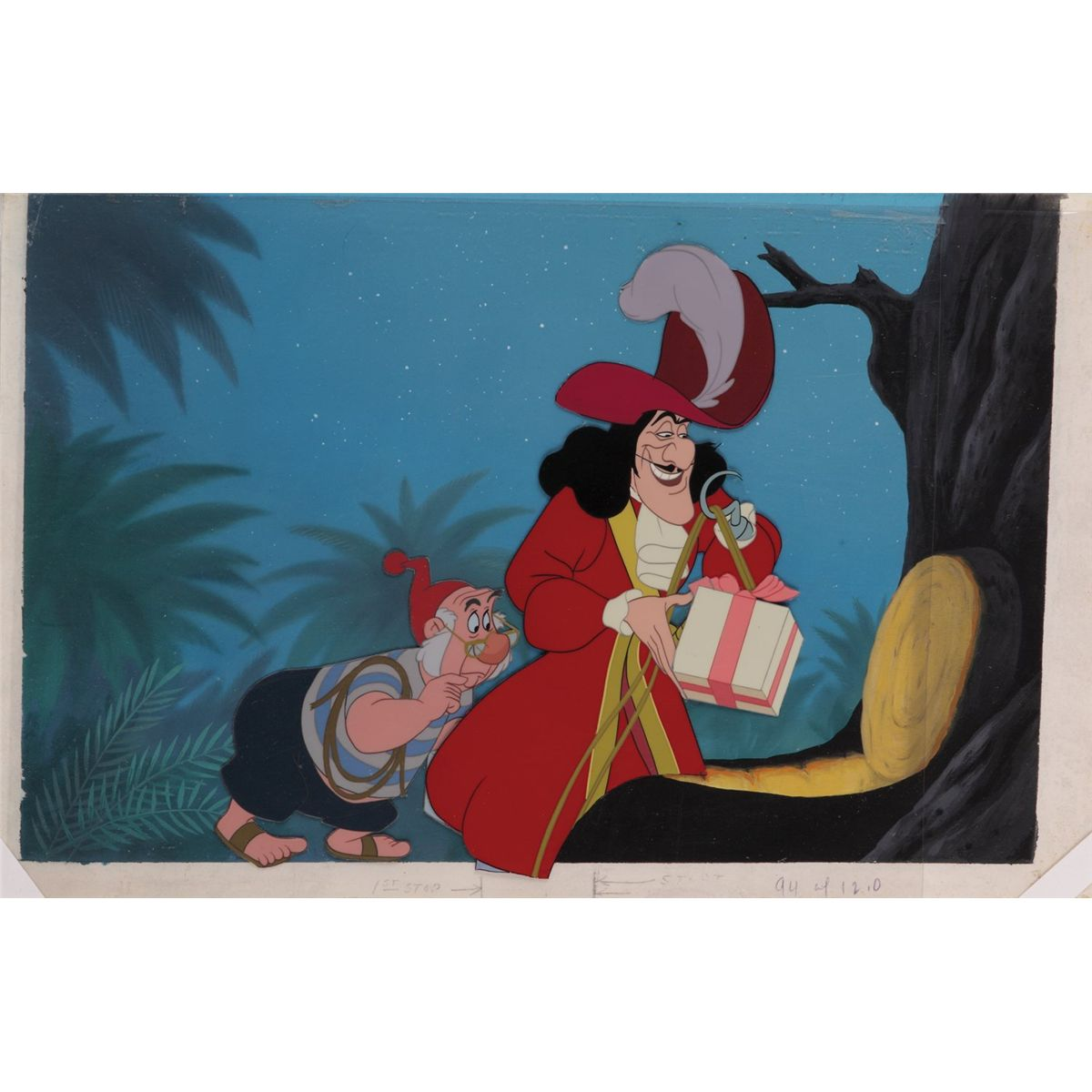Captain Hook And Smee Treehouse Original Production