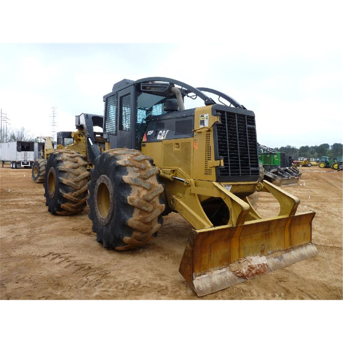 Cat 525c Skidder Track - Year of Clean Water