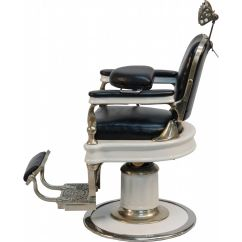 Old Barber Chairs Dark Green Chair Early Quottheo A Koch 39s Quot Salesman Sample