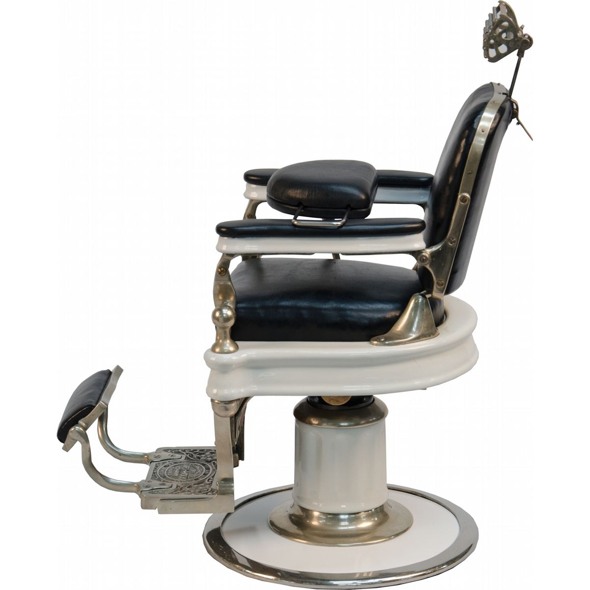 Old Barber Chairs Early Quottheo A Koch 39s Quot Salesman Sample Barber Chair