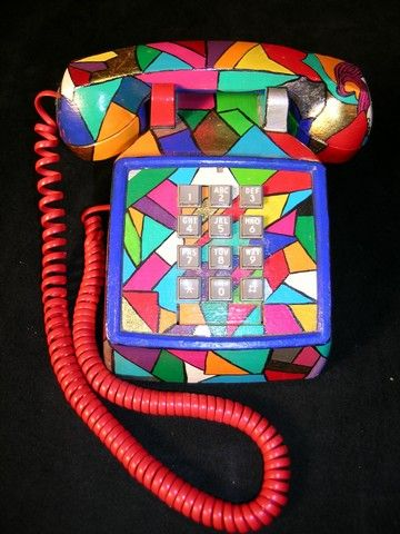 Image result for psychedelic phone ]