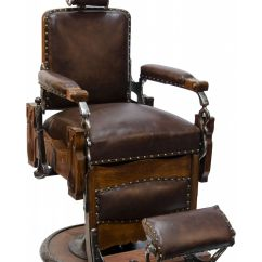 Used Barber Chairs For Cheap Antique Wicker Back Koken Congress Vintage Pedestal Chair