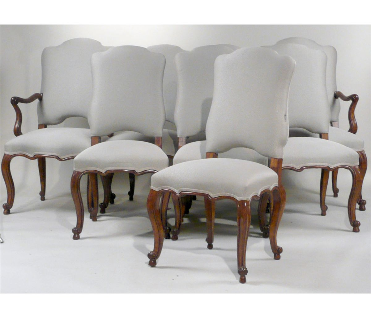 minton spidell chairs alps mountaineering king kong folding chair eight louis xv style dining 20th c