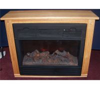 HEAT SURGE ELECTRIC FIREPLACE, MODEL ADL-2000M-X, IN AMISH ...