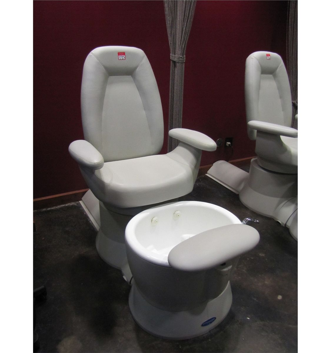 Pedicure Chair Belvedere Whirlpool Pedicure Spa Chair Model 101907 1242