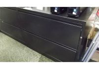 BLACK 2 DRAWER LATERAL FILE CABINET - Able Auctions