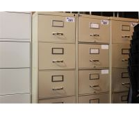 BEIGE 4 DRAWER LEGAL SIZE VERTICAL FILE CABINET - Able ...